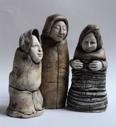 Group of 3 Porcelain Figures